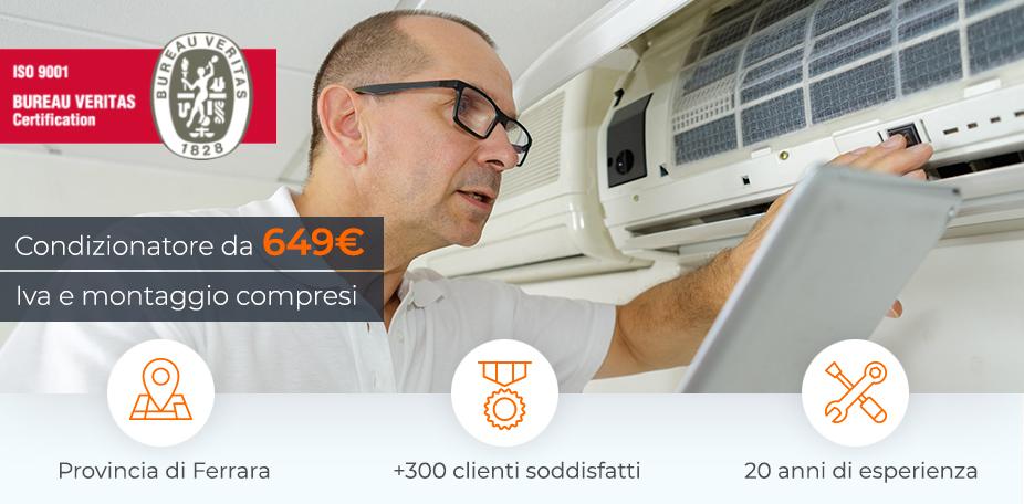 Offerta installazione climatizzatore